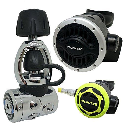 (Palantic SCR-03-YOKE-NA-OC Scuba Diving Dive AS105 Yoke Regulator and Octopus Combo)