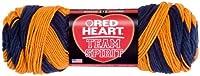 RED HEART Team Spirit Yarn, Navy/Green