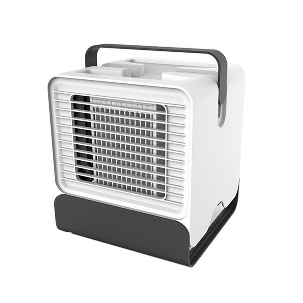 Shentesel Mini Cooling Fan Air Conditioner Humidifier USB Home Office Purifier Night Light - White by Shentesel