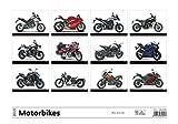 Motorcyle Calendar - Calendars 2018 - 2019 Wall Calendar - Motorcycle Calendar - Photo Calendar - Moto GP Calendar - Motorbikes Calendar by Helma