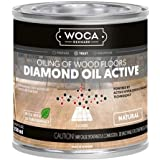 WOCA Denmark - Diamond Oil Active Wood Finish - Low VOC Plant Based Penetrating Oil for Untreated, New, or Newly-Sanded Woode