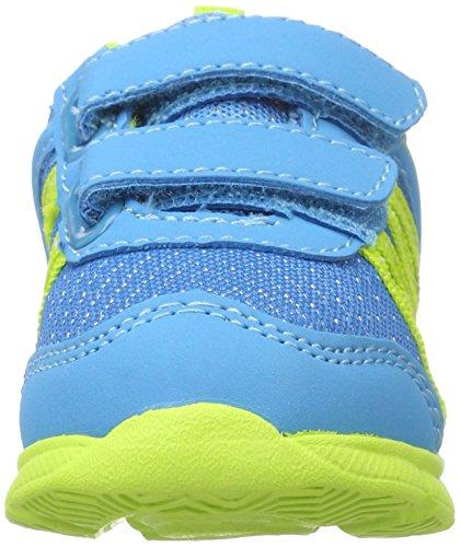 Bruetting Jungen Fluffy V Sneaker Blau (Blau/lemon)