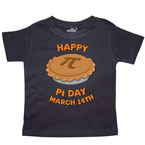 Toddler Pumpkin Pie (inktastic Happy PI Day Toddler T-Shirt 5/6 Black)