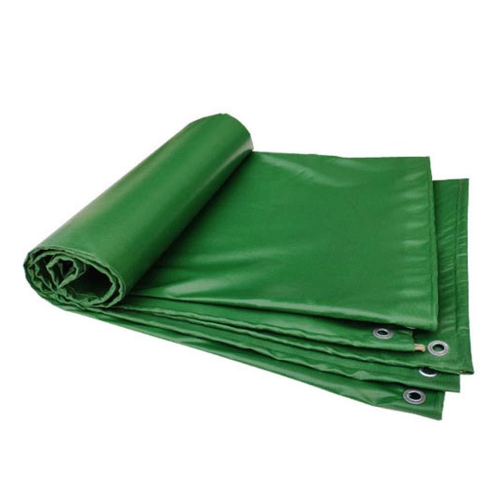 防水シート防水ヘビー、工場ピクニックキャンプカバー布、多目的厚みの防水シート FENGMIMG (色 : 濃い緑色, サイズ さいず : 3x4M) 3x4M 濃い緑色 B07QLXDL2X