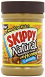 skippy all natural peanut butter - Skippy Creamy Peanut Butter, Natural with Honey, 15-Ounce Jars (Pack of 6)