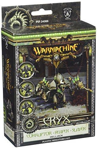 Privateer Press - Warmachine - Cryx: 3 Variant Model Corruptor/Reaper/Slayer Model Kit 3