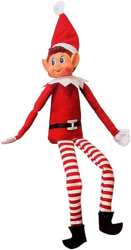 "BRAND NEW 12/"" CHRISTMAS MRS ELF SOFT PLUSH TOY"