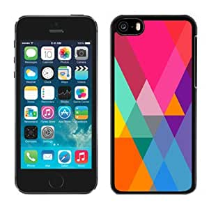XiFu*MeiBeautiful Custom Designed Cover Case For iphone 4/4s With Flat Color Gradient Triangles Phone CaseXiFu*Mei