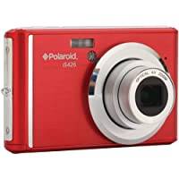Polaroid 18.0 Megapixel Digital Camera - Style, Red