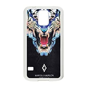 Samsung Galaxy S5 I9600 Cell Phone Case White MARCELO BURLON_001