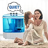 Portable Washing Machine, Spin Dryer-Compact Twin