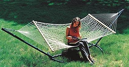 Oak N Oak Sleeping Hanging Hammock - 48W X 11ft (Single Person Use)