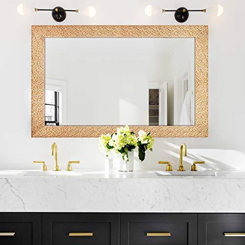 Hans & Alice Large Wall Mirror for Bathroom, Bedroom, Living Room Hanging -