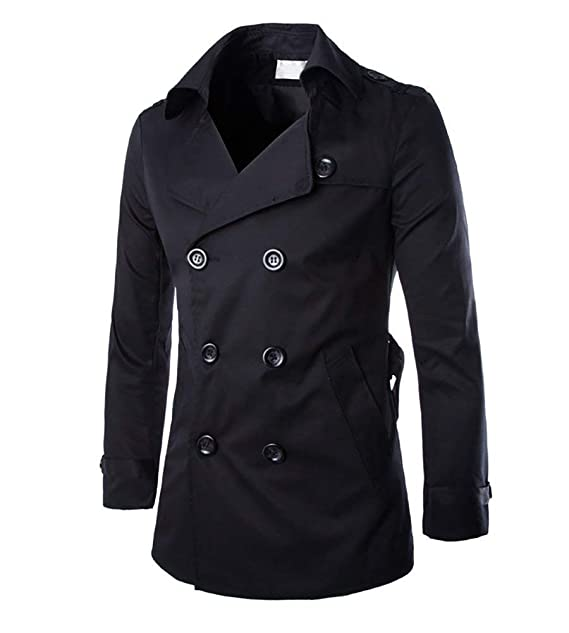 Pingrog Chaquetas Vestir Clásicas Chaqueta Ajustada Jacket Chaqueta para Crucería Invierno Hombres Chic Raso Manga Larga