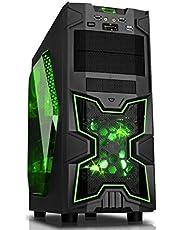 Itek ITGCSA02 Cassa per PC da Gaming, Nero [Italia]