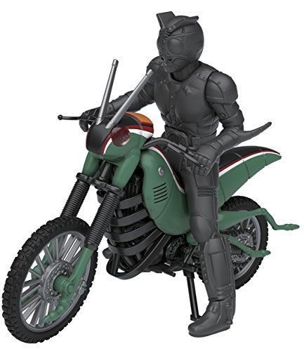 Bandai Mecha Collection Kamen Rider Series Battle Hopper & Shadow Moon Model Kit(Japan Import)