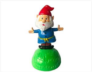 Solar Pal - Garden Gnome- Solar Powered Dancing Figurine