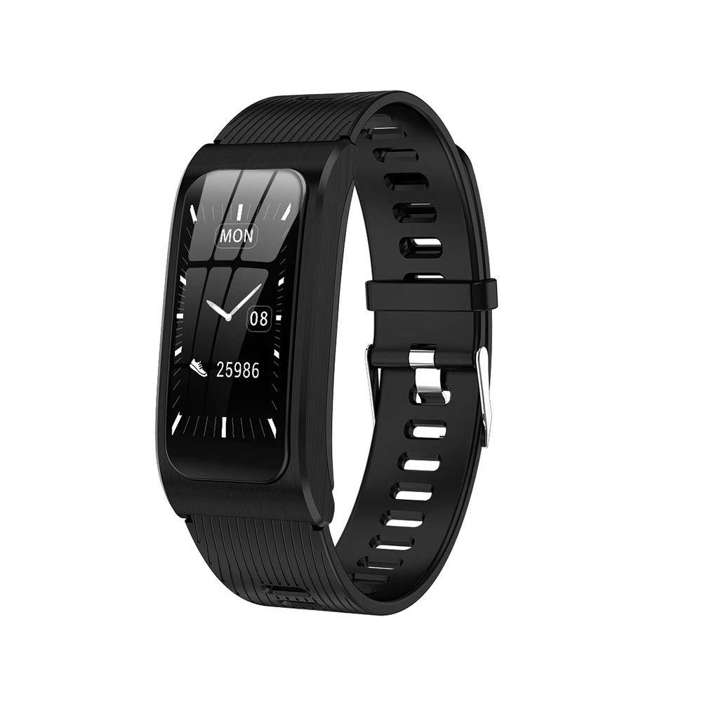 J  Fitness Tracker, Marchepied étanche couleur haute résolution intelligente IP67 for bracelet, fréquence voiturediaque, pression artérielle, oxygène dans le sang, détection du sommeil, écran lumineux tactil