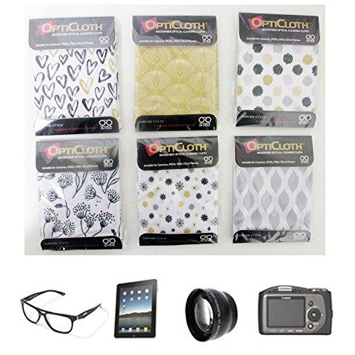 3 OptiCloth Microfiber Optical Cleaning Cloth Glasses Lens T