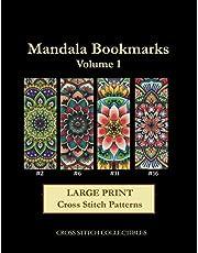 Mandala Bookmarks Vol. 1: Large Print Cross Stitch Pattern