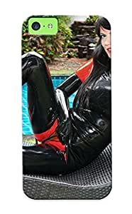 Hot Tpu Cover Case For Iphone/ 5c Case Cover Skin Design - Fetish Latex Cosplay Sexy Babe Adult (16)