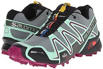 Salomon Women's Speedcross 3 Cs W Trail Running Shoe, Light Ttlucite Greenmystic Purple, 5 B Us 5