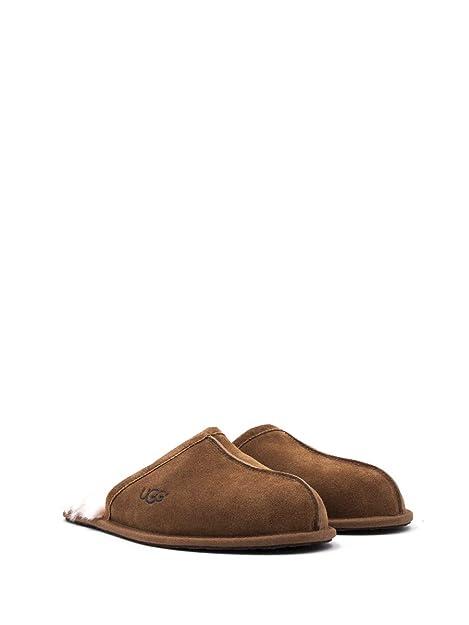 UGG Australia 1101111 - Zapatillas de Estar por casa de Cuero para Hombre Marrón marrón Marrón Size: 42 EU: Amazon.es: Zapatos y complementos