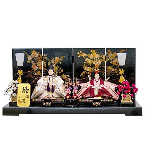 雛人形 親王飾り 平飾り 幅65cm [fz-61] ひな人形   B07K74KPTR