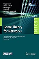 Game Theory for Networks Front Cover