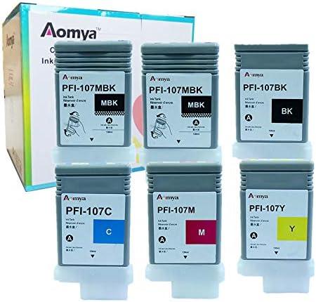 Matte Black Aomya Compatible Ink Cartridge for Canon PFI-107