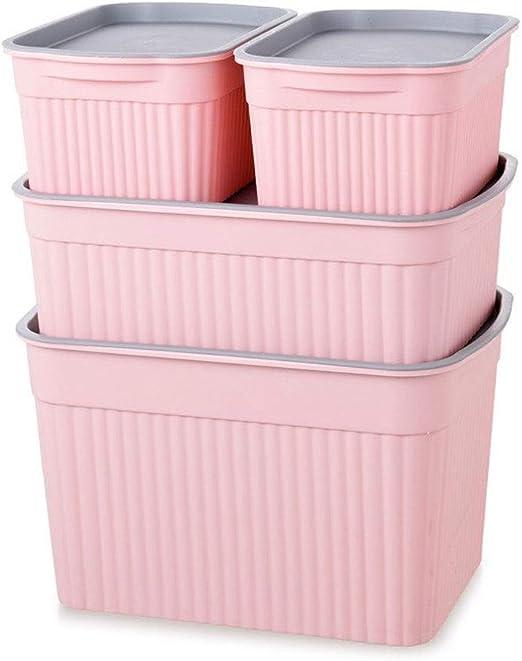 HX Cajas almacenaje Ropa Grandes de Almacenamiento, de plástico ...