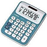Mini Calculadora de Mesa com Visor 8 Dígitos, Casio, MS-6NC-BU, Azul
