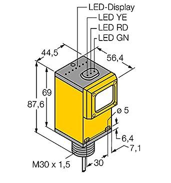 3037625 - q459e, Opto sensor desechable Barrera de luz (Transmisor) Kema 03 ATEX 1441 X: Amazon.es: Industria, empresas y ciencia