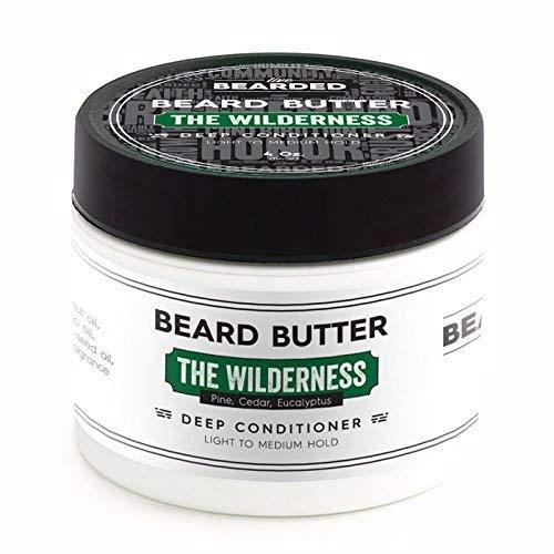Live Bearded Pine, Cedar, Eucalyptus Beard Butter, The Wilderness All Natural Beard Butter 4 Fl Oz