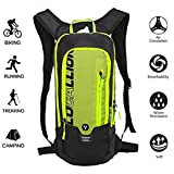 LOCALLION Cycling Backpack Biking Backpack Riding Daypack Bike Rucksack Breathable Lightweight for Outdoor Sports Travelling Mountaineering Hydration Water Bag men women 10L Black (type4)