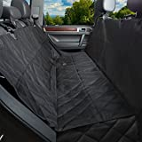 Pet Seat Cover with Side Protection Provides Full length Car Seat Protection from water and dirt, Non Slip and Safe for Machine Wash will Help You Keep Your Car Clean