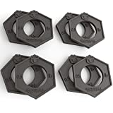 Iron Bull Fractional Plates - Set of 8 - 0.5 Pound Weight Plates, For Olympic Bars - (8 x 0.5 lb kit) - Micro Loading 1 Pound