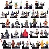 TONGROU Rogue One A Story Yoda Kenobi Darth Vader Master 24 Mini figures