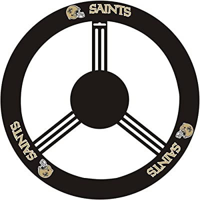 Fremont Die New Orleans Saints Steering Wheel Cover