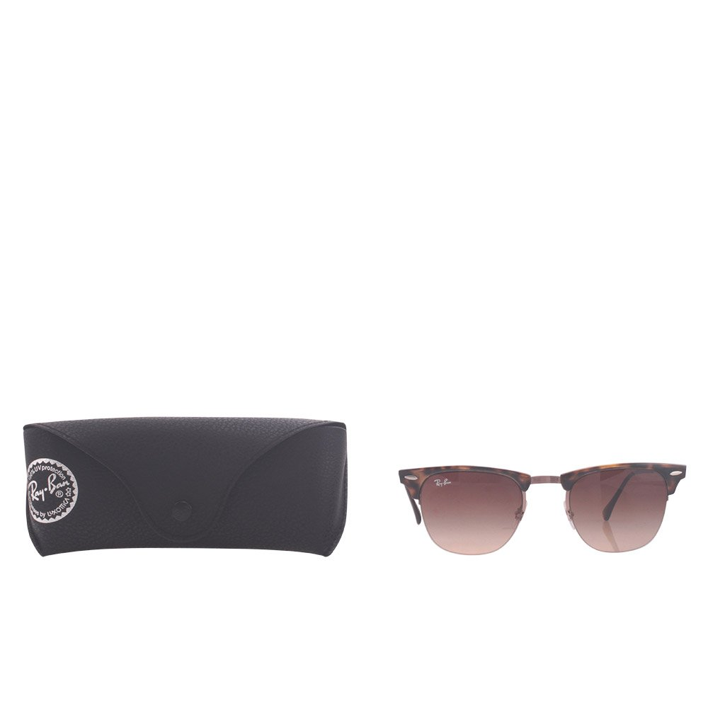 57a58d9dad Ray-Ban TITANIUM MAN SUNGLASS - SHINY BROWN Frame GRADIENT BROWN Lenses  51mm Non-Polarized  Ray-Ban  Amazon.in  Clothing   Accessories