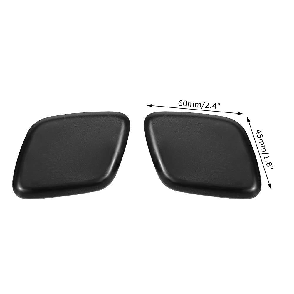 EBTOOLS Lavaparabrisas del parachoques del coche reemplazo de accesorio del lavaparabrisas del parachoques delantero de 1 par para Focus 2012-2014