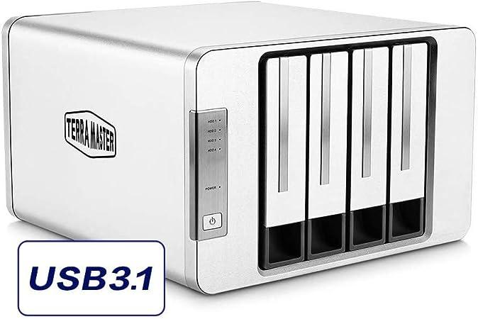 Terramaster D4 300 Usb 3 1 Typ C Speicher Externes Computer Zubehör