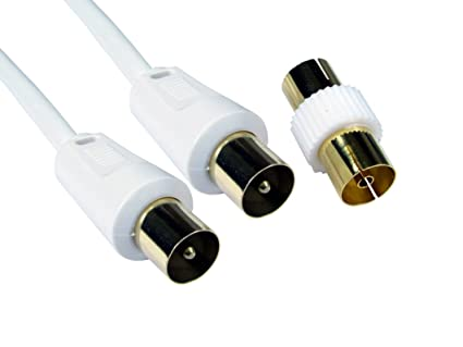 Mundo de datos 1 m a 20 m Cable coaxial – Alta calidad – 24 K conectores