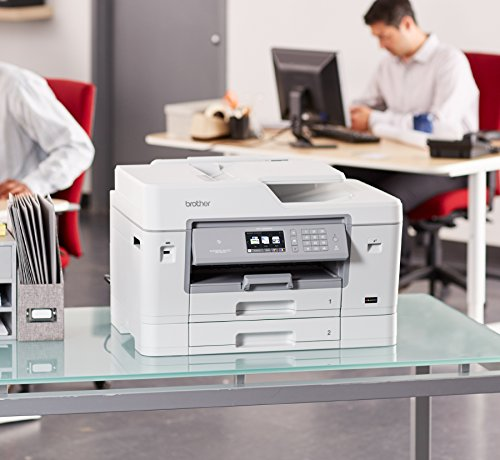 Brother Printer MFCJ6935DW Wireless Color Printer with Scanner, Copier & Fax, Amazon Dash Replenishment Enabled by Brother (Image #1)