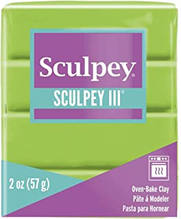 product image for Sculpey III Polymer Clay 2 Ounces-Granny Smith