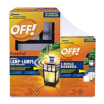 Off Powerpad Lamp Value Pack With 3 Refills