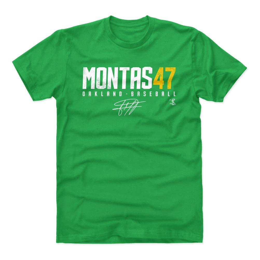Frankie Montas Oakland Baseball Apparel Frankie Montas Elite Shirts