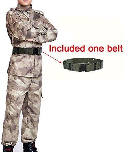 Hombres táctico EDR combate Uniforme Chaqueta camisa & Pantalones Costume Atacs para ejército militar, para Airsoft y Paintball, diseño de caza guerra Juego de torneado, color - Atacs, tamaño XXL: Amazon.es: Deportes