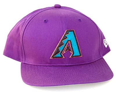 MLB Arizona Diamondbacks New Era Low Profile Snapback Cap Hat-Purple