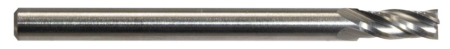7mm Length of Cut Finecut Tool FT9016 4-Flute Square Solid Carbide Endmill//2.8mm Diameter 3mm Shank 38mm Overall Length